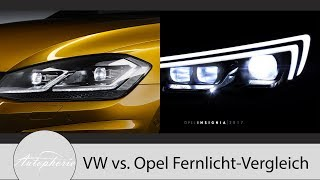 Download Volkswagen LED-Scheinwerfer vs. Opel Matrix-LED Pro und Contra [4K] - Autophorie Video