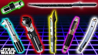Download TOP 7 Lightsaber Colours and Meanings (CANON) - Star Wars Explained Video