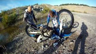 Download Husaberg FE 390 bath, Now with subtitles :) Video