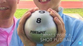 Download What's inside a Shot Put Ball? Video