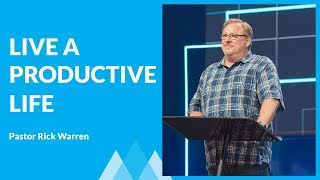 Download The Secrets of A Productive Life with Rick Warren Video