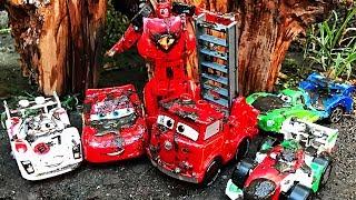 Download Disney Cars Lightning McQueen - Lego Duplo Race DISNEY PIXAR CARS 3 | Cartoons Videos for Children Video