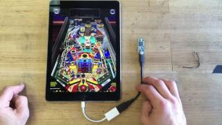 Download John Park's iPad Pinball Hack Teensy Autoplay @adafruit @johnedgarpark #pinball #adafruit Video