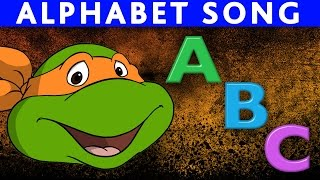 Download Teenage Mutant Ninja Turtles ABC Song Alphabet Song ABC Nursery Rhymes ABC Song for Children Video
