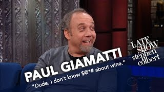 Download Paul Giamatti, The Merlot Guy, Knows Nothing About Wine Video