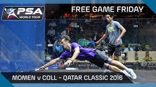 Download Squash: Free Game Friday - Momen v Coll - Qatar Classic 2016 Video