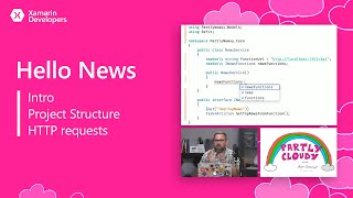 Download Partly Cloudy: Hello News (Intro, project structure, and HTTP requests) Video