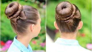 Download How to Create a Bow Bun | Prom Hairstyles Video