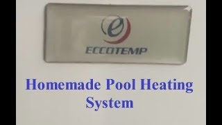 Download Homemade Pool Heating System DIY (Do It Yourself) Video
