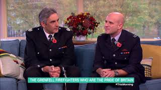 Download The Grenfell Firefighters Who Are the Pride of Britain | This Morning Video