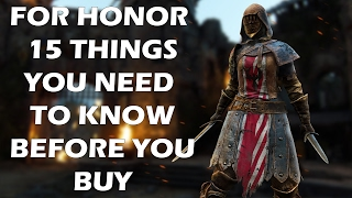 Download For Honor - 15 Things You NEED TO KNOW Before You Buy The Game Video