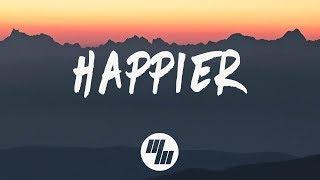 Download Marshmello - Happier (Lyrics) ft. Bastille Video