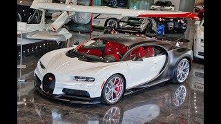 Download Lamborghini Centenario,Aventador SVJ,Bugatti Chiron,Pagani at Most Expensive Supercar Showroom Video