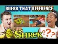 GUESS THAT SHREK REFERENCE CHALLENGE (React)