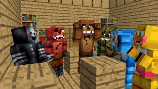 Download FNAF Monster School: Season 1 - Minecraft Animation (Five Nights At Freddy's) Video