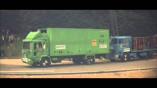 Download DTC - Truck crash test load securing Volvo CH230 at 80 km/h Video