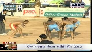 Download Pakistan vs Canada | Men's | Day 8 | Pearls 4th World Cup Kabaddi Punjab 2013 Video