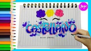 Download IDEAS PARA MARCAR CUADERNOS-Regreso a clase-Cómo dibujar portada de CASTELLANO Video