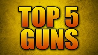 Download The Top 5 Weapons in Advanced Warfare! (Best Guns According to K/D) Video