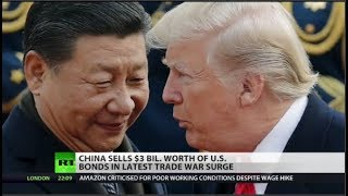 Download China Sells $3 Billion of US Debt as Trade War Surges Video