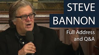 Download Steve Bannon | Full Address and Q&A | Oxford Union Video