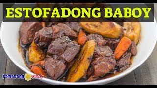 Download How to Cook Estofadong Baboy (Sweet Pork Stew) Video