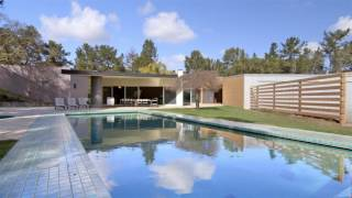 Download Conventional Post Modern Residence in Woodside, California Video