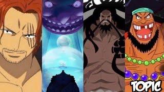 Download Four Emperors Yonko War & Powers Explained? Kaido! Shanks & Blackbeard! One Piece ワンピース 826 + Video