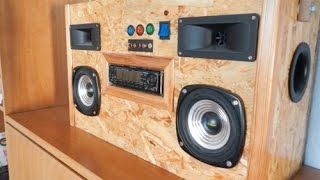 Download Homemade Car-Audio Boombox Video
