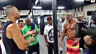 Download Wladimir Klitschko and Shannon Briggs Get Into Another Altercation in Hollywood, FL Video