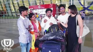 Download Chattisgarh student going abroad through Yukti Belwal Video