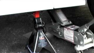 Download How To Raise or Lift Your Car onto Jack Stands-AutoHow.TV Video