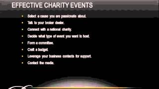 Download How to Host Charity Events That Really Work! Video