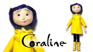 Download Coraline Inspired (Poseable) Doll - Polymer Clay Tutorial Video