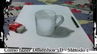 Download Como fazer desenhos 3D - Método 1 Video