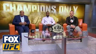 Download Champs Only: Cormier, Woodley, and Holloway | UFC Tonight Video