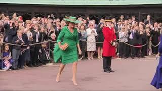 Download Royals arrive for Princess Eugenie's wedding Video