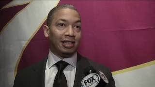 Download Cavs coach Tyronn Lue has a plan for Kyrie Irving Video