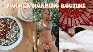 Download SUMMER MORNING ROUTINE 2018 | Productive & Healthy Video