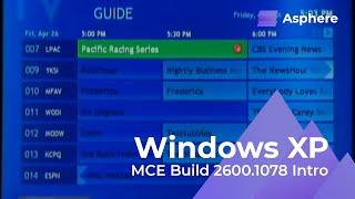 Download Windows XP Media Center Edition 2002 Build 2600.1078 Intro   xSolidFigure Video