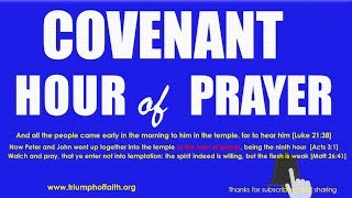 Download Covenant Hour of Prayer, August 18, 2018 [Extended Session] Video