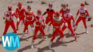 Download Top 10 Red Power Rangers Video