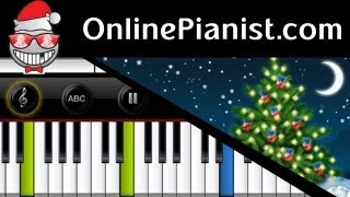 Download Christmas Carol - Santa Claus is Coming to Town - Piano Tutorial Video