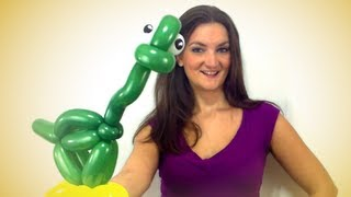 Download LONG NECK DINOSAUR Balloon Animal Tutorial - Learn Balloon Animals with Holly! Video