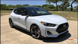 Download 2019 Hyundai Veloster R-Spec – Nearly A Korean Hot Hatch Video