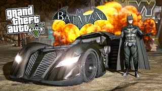 Download GTA 5 Mods ULTIMATE BATMAN MOD! GTA 5 Batman, Batmobile, Batwing & Batpod Mod! (GTA 5 Mods Gameplay) Video