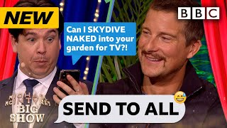 Download Survival expert Bear Grylls' hilariously REVEALING Send To All! - Michael McIntyre's Big Show | BBC Video