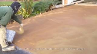 Download Pattern Imprinted Concrete / Stamped Concrete Driveway by Readypave Ltd Video