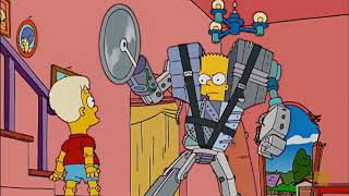 Download Bart super robot! #CTS Cartoon Tv Series Video