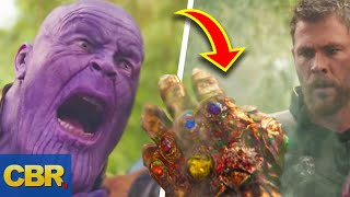 Download Here's How Marvel's Thanos Could Still Use The Infinity Gauntlet After It Got Damaged Video